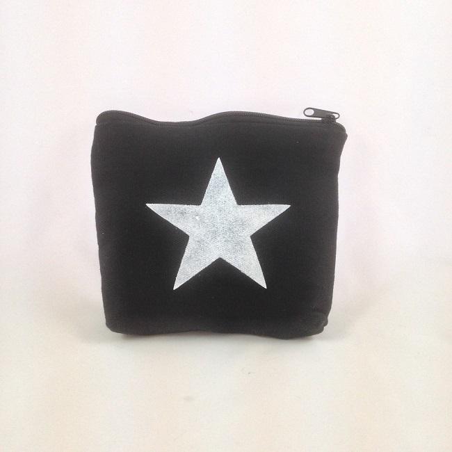 Pochette pochoir étoile
