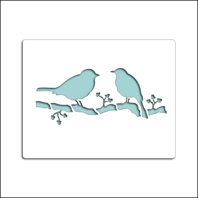 Pochoirs for Pochoir oiseau