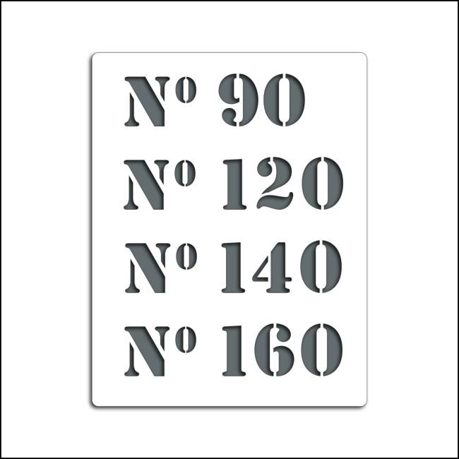 Pochoir N°90