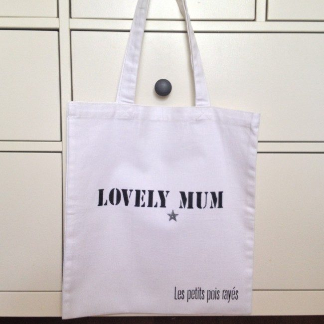 Tote bag Lovely Mum