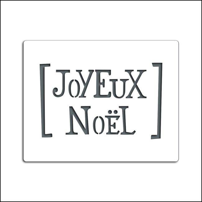 pochoir joyeux noel Pochoir JOYEUX NOËL pochoir joyeux noel