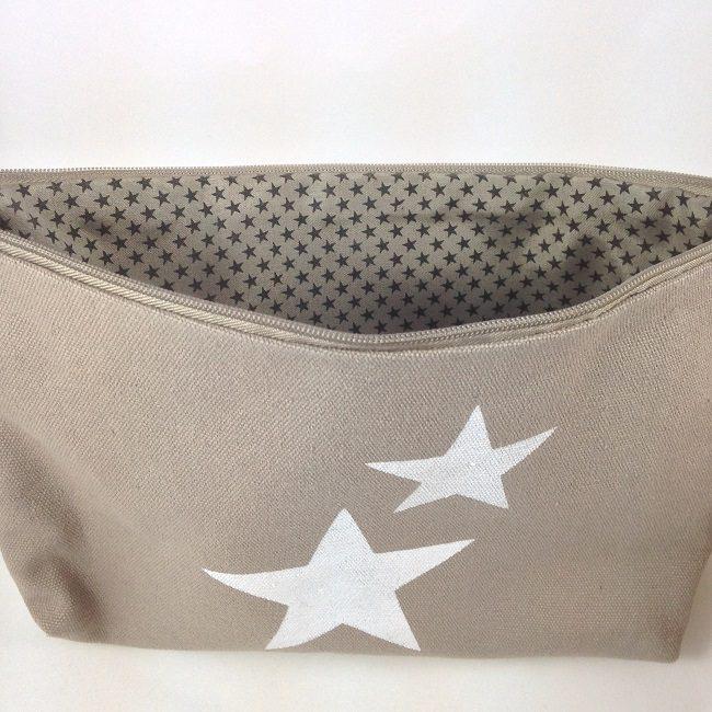 Intérieur pochette étoiles