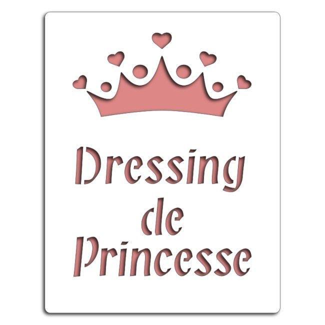 Pochoir Dressing de princesse